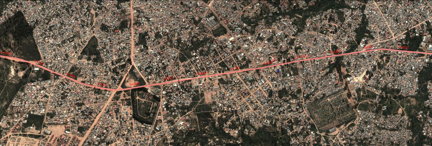 Via Circular Externa ao Lubango