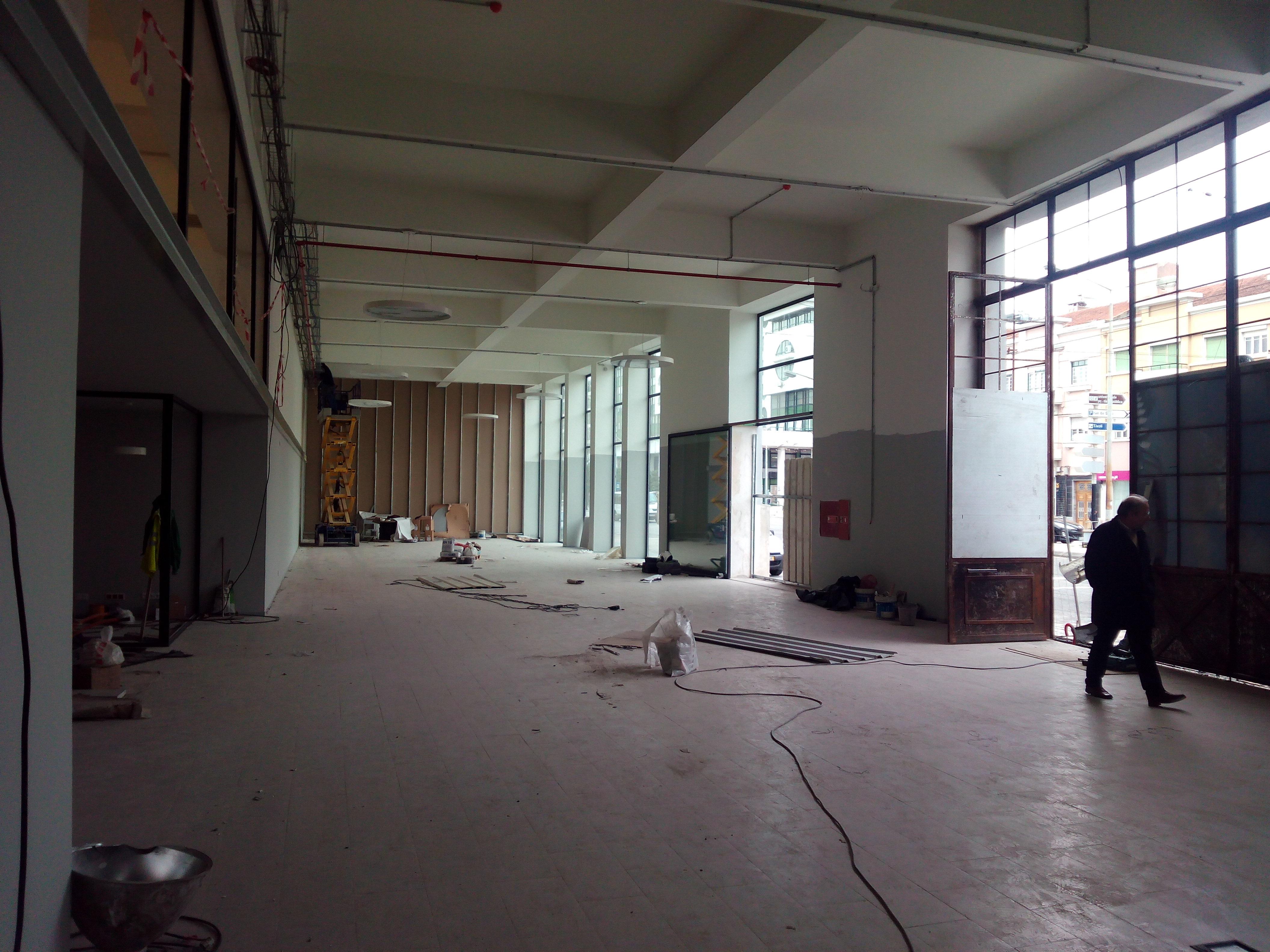 A reabilitação do histórico Edifício Auto Industrial está em andamento