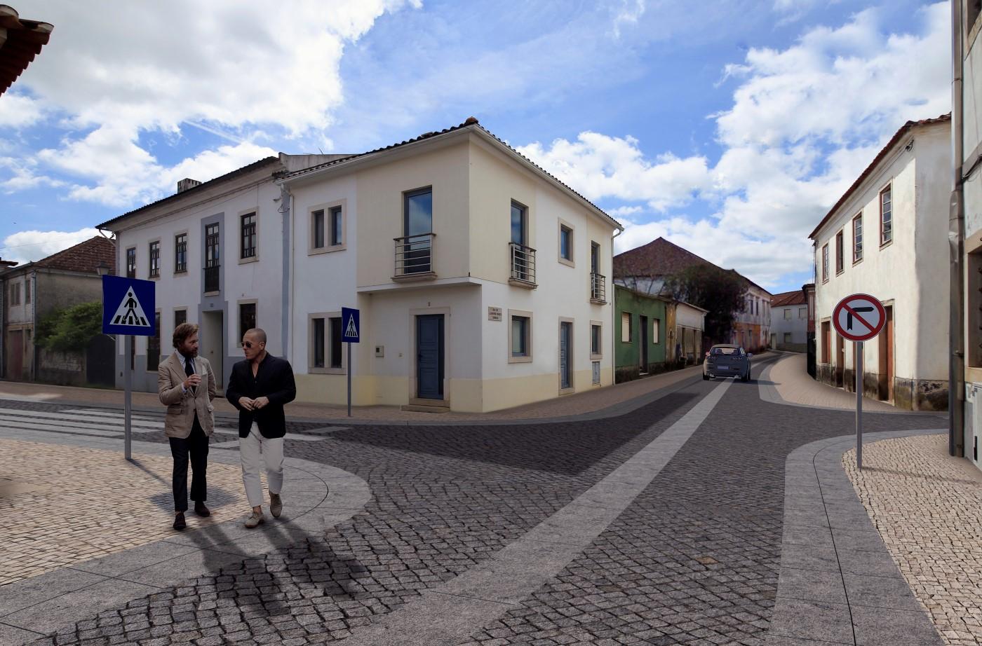 Regeneração Urbana da Vila De Ansião - Biblioteca / Tribunal