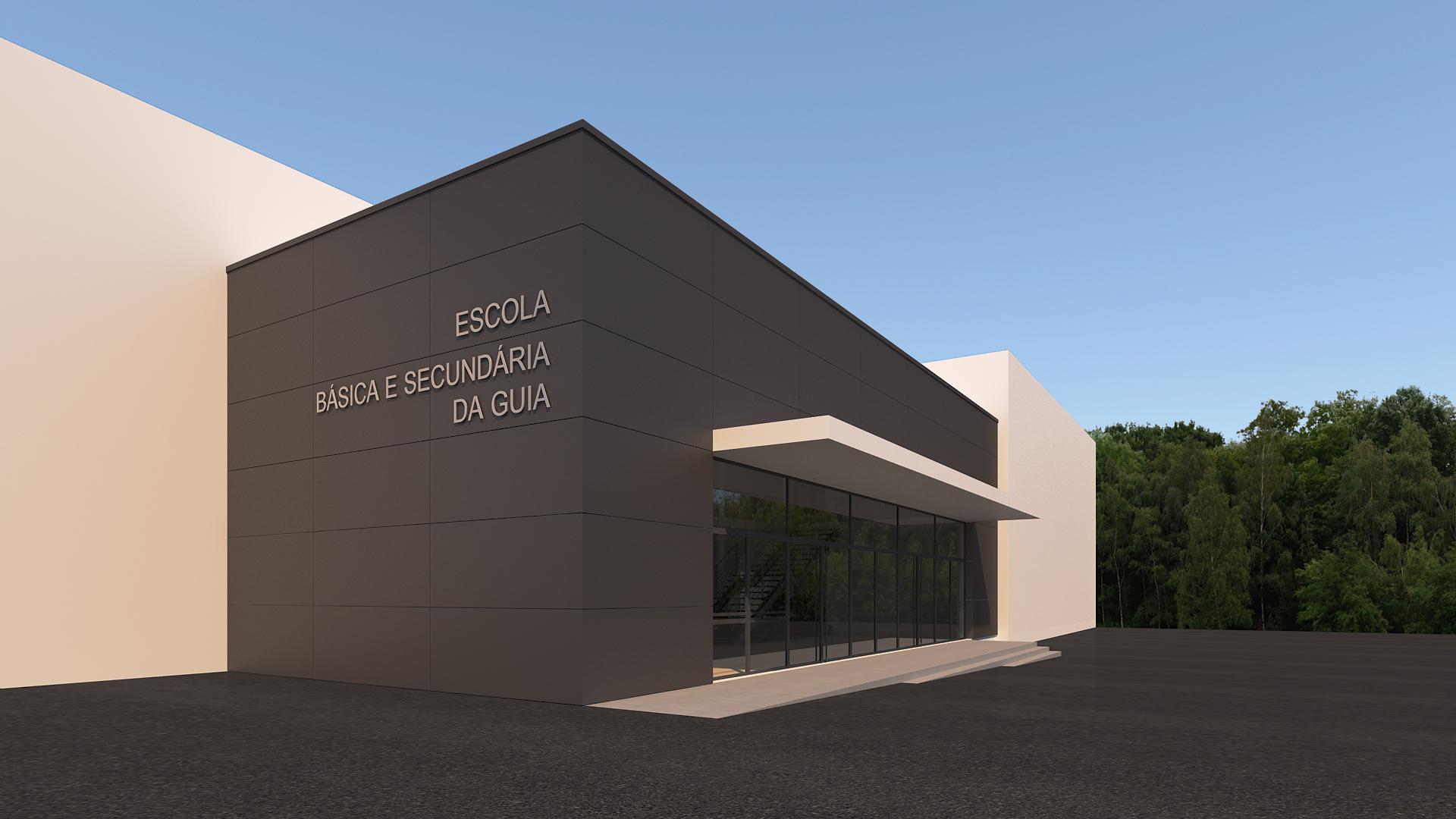 Central Projectos concluiu projeto de reabilitação da Escola Secundária da Guia