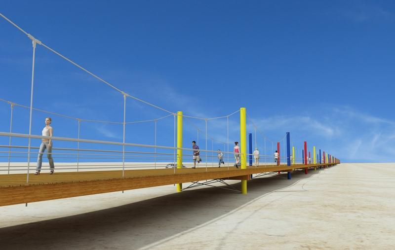 Ponte Pedonal Cabo Verde