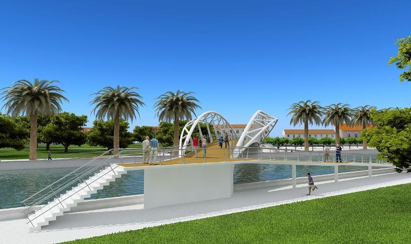 Ponte Pedonal de Aveiro