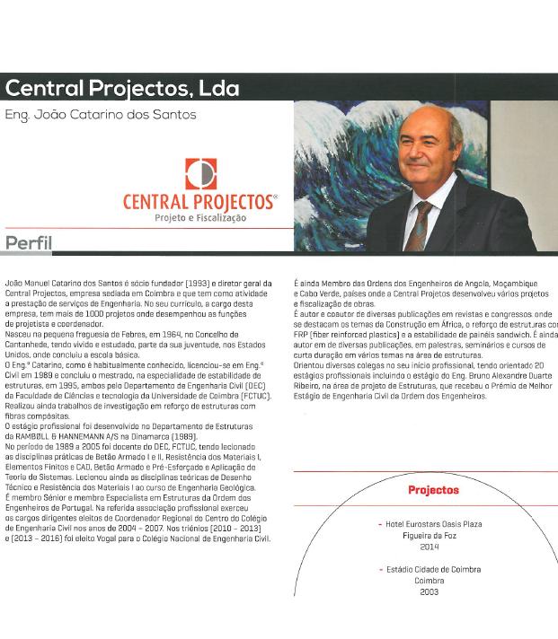 """Diretor da Central Projectos em destaque no Anuário """"Quem é Quem na Arquitetura e Engenharia"""""""