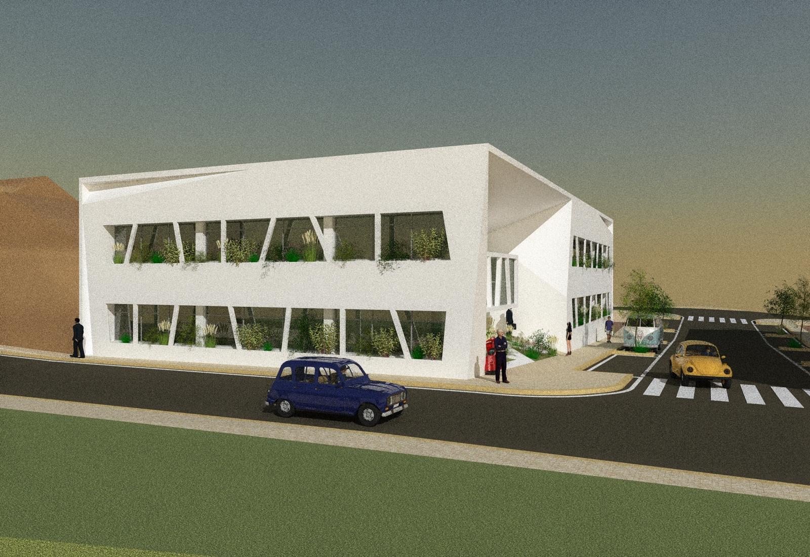 Projeto do Centro de Negócios de Aljustrel
