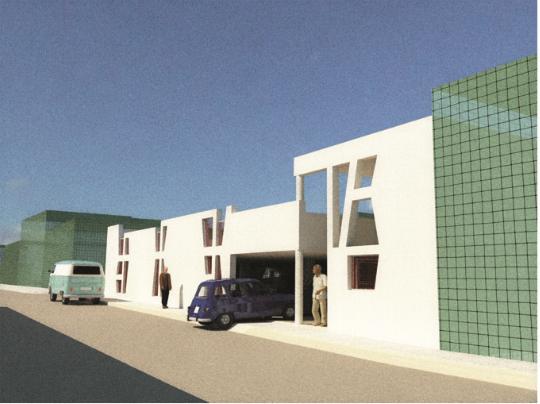 Projeto do Estacionamento de Aljustrel